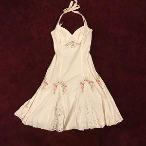 Vintage-like Betsey Johnson halter dress